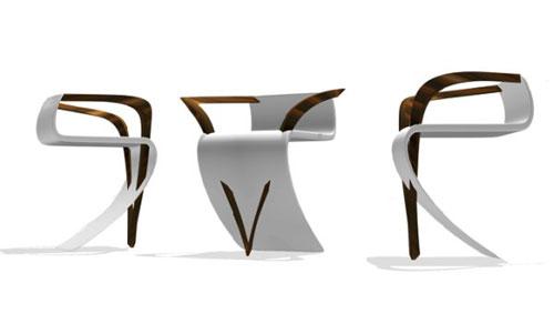 La Roche Chair, A Creative and Unusual Design