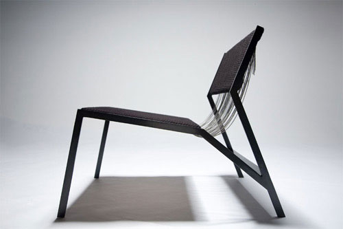 Noir Chair by Farrah Sit