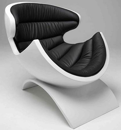 Shell-shaped P38 Chair from Owen Edwards