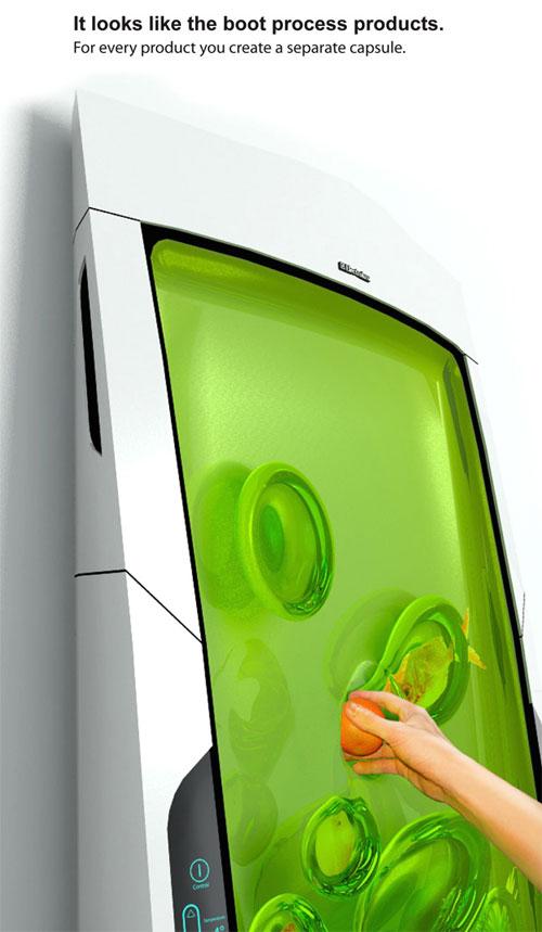 Bio Robot Refrigerator 1