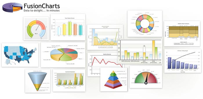 FusionCharts Suite XT - JavaScript/HTML5 Charting Library for Web Developers
