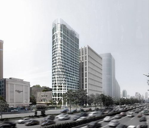 Conrad Hotel in Beijing, China - Inspiring Hotels Architecture