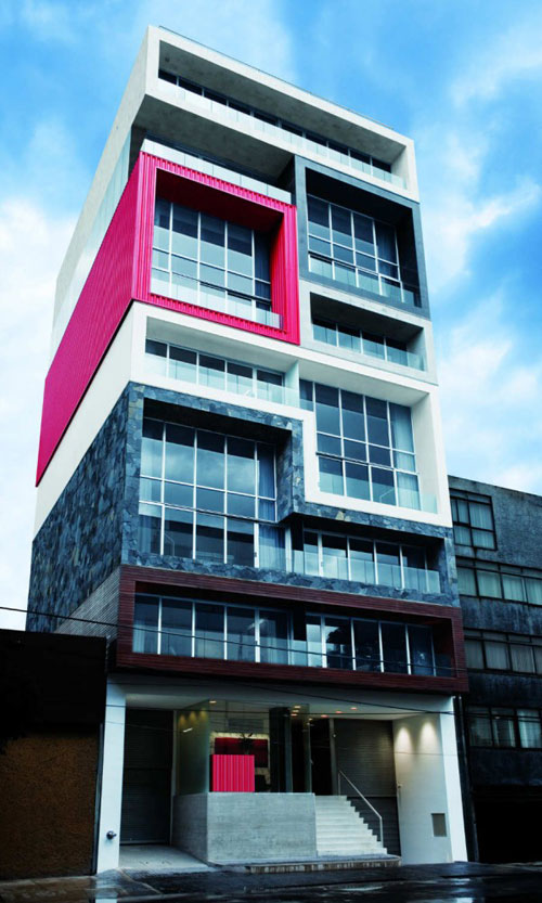 Filadelfia Corporate Suites in Mexico City, Mexico - Inspiring Hotels Architecture