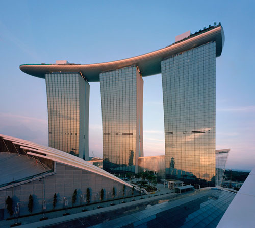 Marina Bay Sands in Singapore - Inspiring Hotels Architecture