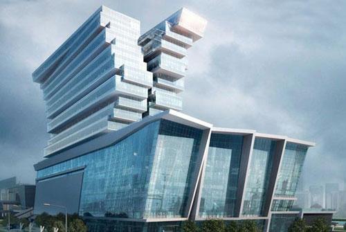 Pazhou Hotel in Guangzhou, China - Inspiring Hotels Architecture
