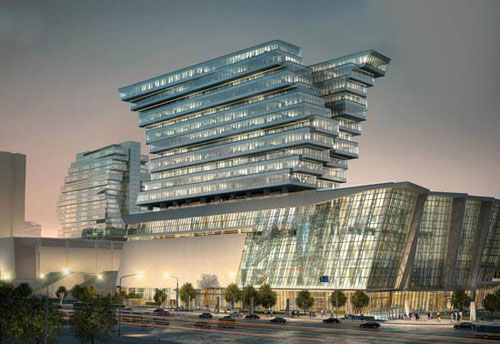 Pazhou Hotel in Guangzhou, China 2 - Inspiring Hotels Architecture