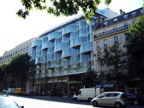 Renaissance Marriot Hotel in Paris, France - Inspiring Hotels Architecture