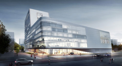 South West Hotel Competition proposal in Beijing, China - Inspiring Hotels Architecture