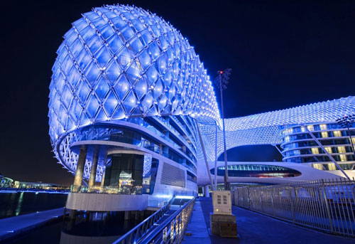 The Yas Hotel in Abu Dhabi, UAE 2 - Inspiring Hotels Architecture