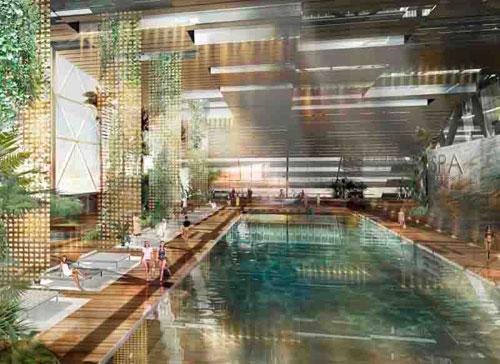 Urban Resort in Sankt Petersburg, Russia 2 - Inspiring Hotels Architecture