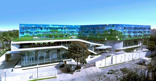 Vivanta Hotel in Whitefield, Bangalore, India - Inspiring Hotels Architecture