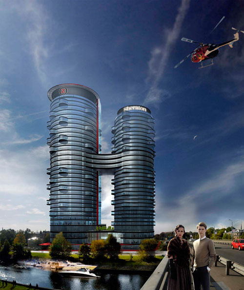 Z Towers in Riga, Latvia - Inspiring Hotels Architecture