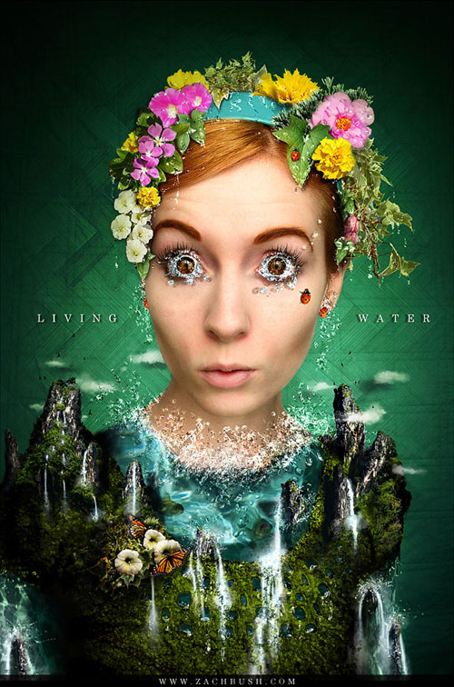 Living Water Photo Manipulation