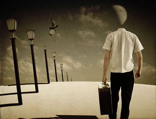 Moony day Photo Manipulation