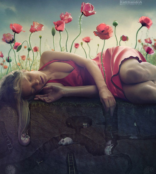 Opium Dreams Photo Manipulation