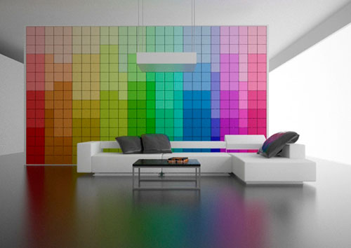 Change It! Wall - High Tech Gadgets To Give Your Home A Futuristic Look