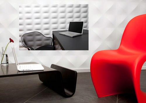 Dimensional Wall Panels - High Tech Gadgets To Give Your Home A Futuristic Look