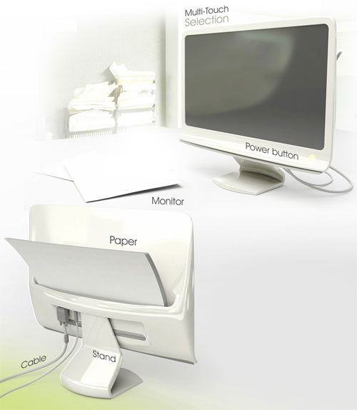 Document Extractor – Combi Monitor 3 - High Tech Gadgets To Give Your Home A Futuristic Look