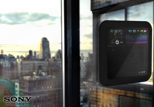Sony Eclipse - High Tech Gadgets To Give Your Home A Futuristic Look