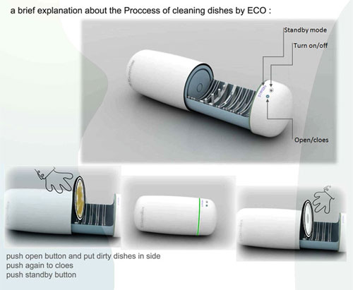 Eco Cleaner - High Tech Gadgets To Give Your Home A Futuristic Look