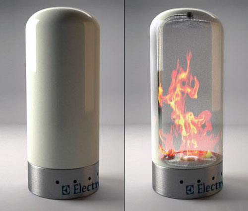 Electrolux Fireplace - High Tech Gadgets To Give Your Home A Futuristic Look