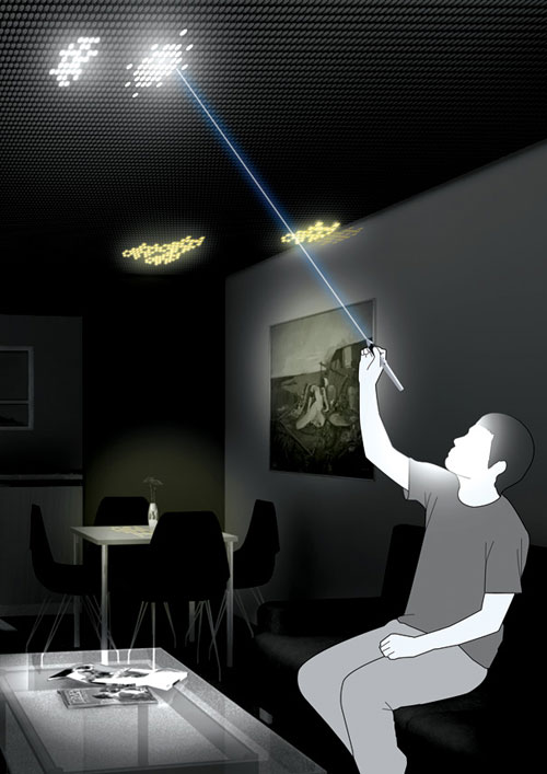 Led Ceiling 1 Cool High Tech Gadgets To Give Your Home A Futuristic Look