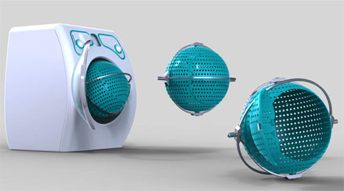 Orbital Washing Machine - High Tech Gadgets To Give Your Home A Futuristic Look