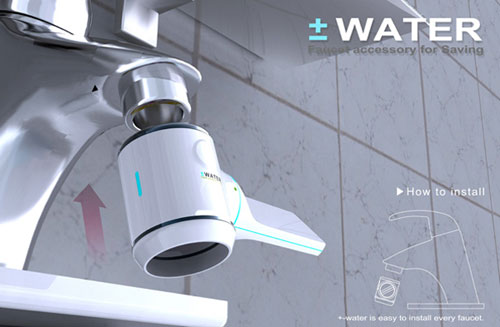 +- Water Meter - High Tech Gadgets To Give Your Home A Futuristic Look