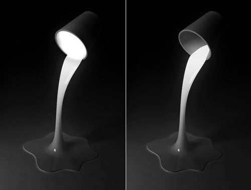Pouring Light lamp 2 - High Tech Gadgets To Give Your Home A Futuristic Look