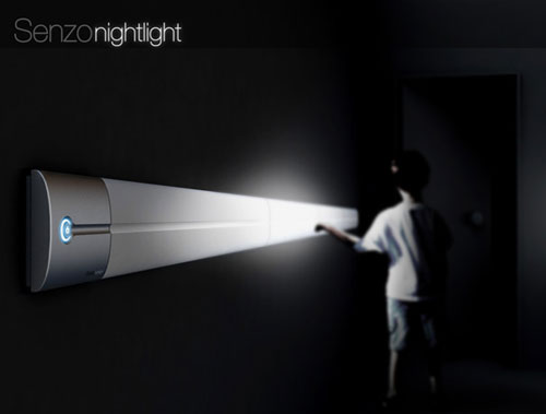 Senzo Nightlight  - High Tech Gadgets To Give Your Home A Futuristic Look