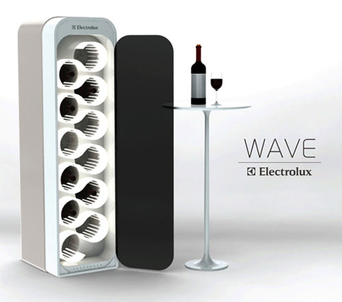 WAVE Ultra Sonic Wine Ager And Refrigerator - High Tech Gadgets To Give Your Home A Futuristic Look