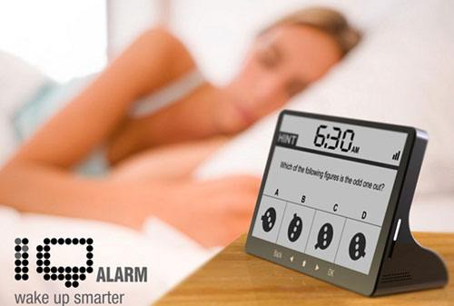 iQ Alarm clock - High Tech Gadgets To Give Your Home A Futuristic Look