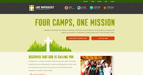 campwapo.org HTML5 and CSS 3 inspiration showcase site