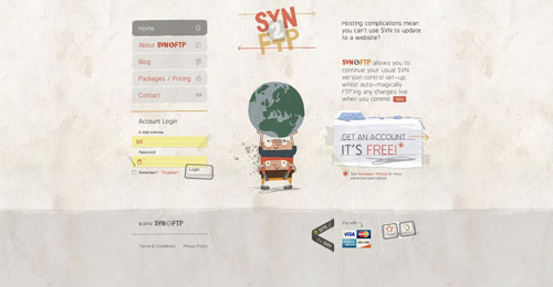 svn2ftp.com HTML5 and CSS 3 inspiration showcase site