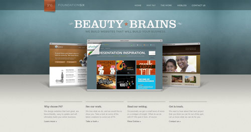 foundationsix.com HTML5 and CSS 3 inspiration showcase site