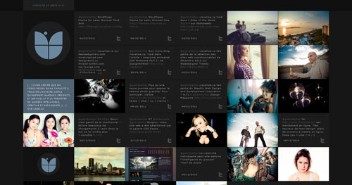 visualise.ca HTML5 and CSS 3 inspiration showcase site