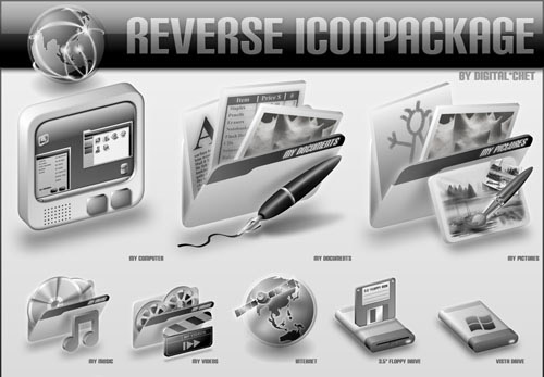 Reverse Iconpackager skin