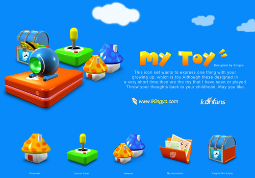 My Toy Iconpackager skin
