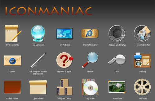 iconmaniac Iconpackager skin