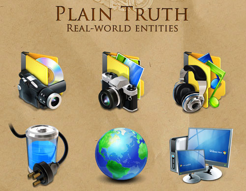 Plain Truth Iconpackager skin