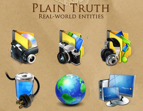 Plain Truth Iconpackager skin