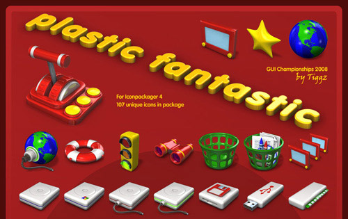 Plastic Fantastic Iconpackager skin