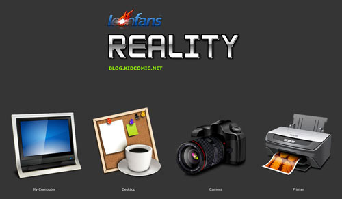 Reality Iconpackager skin