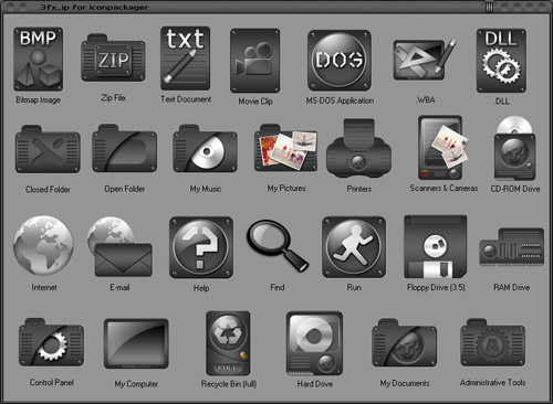 3FX Iconpackager skin