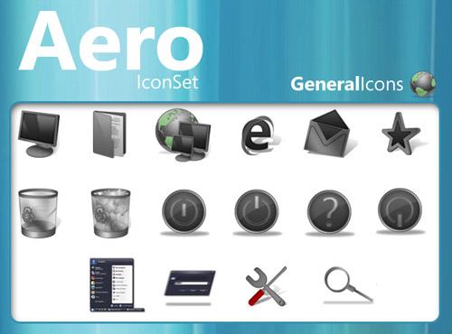 Aero Iconpackager skin
