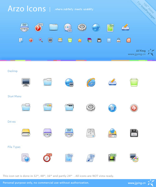 Arzo Iconpackager skin