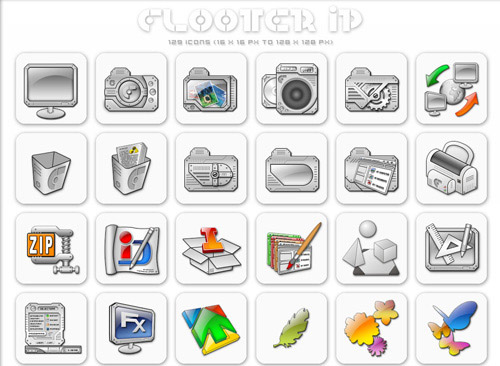 Flooter Iconpackager skin