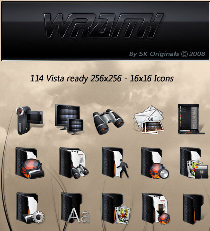 Wraith Iconpackager skin