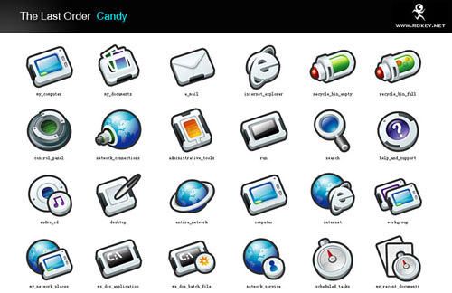 the last order:candy Iconpackager skin