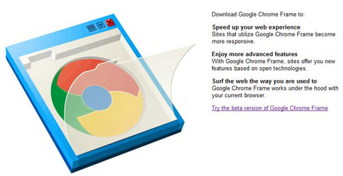 Google Chrome Frame for Internet Explorer